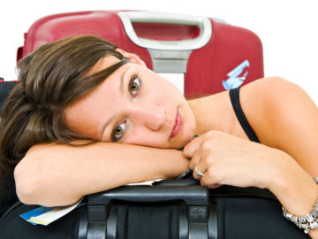 Tired traveler Bigstock-5464510