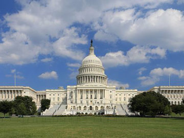 U.S. Capitol, west side from Wikimedia Commons